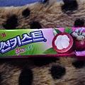 山竹口味的口香糖!!酷吧~