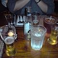 我們點的所有飲料兒 :)