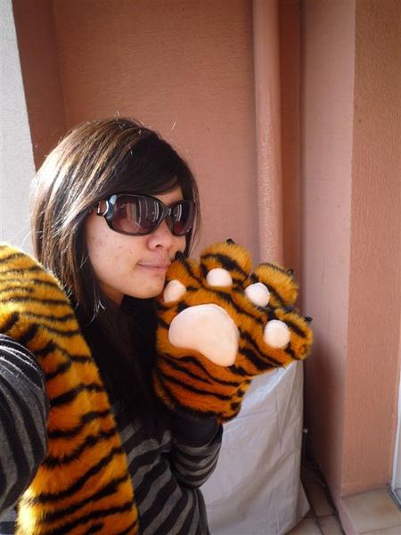 哈哈 我的虎虎:)