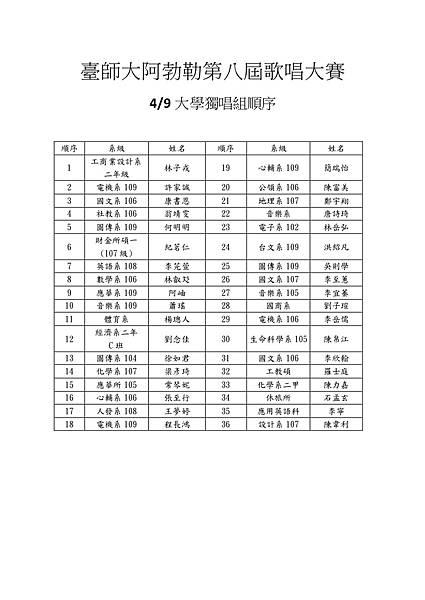 0409大學獨唱組順序 (1).jpg