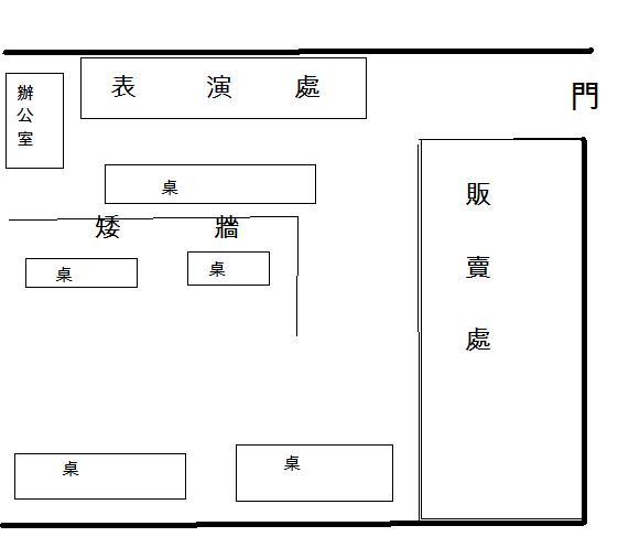 鮮芋仙場地圖