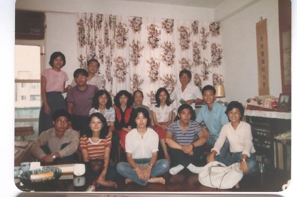 19810928年同學會01華老師家