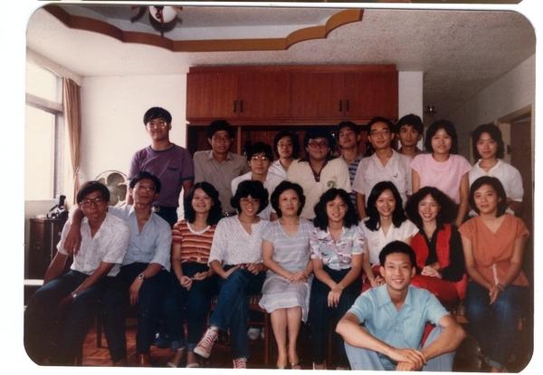 19810928年同學會03.周老師家