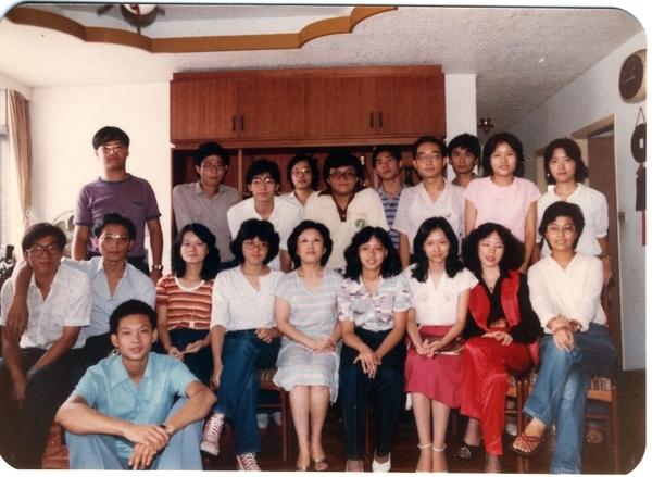 19810928年同學會05周老師家