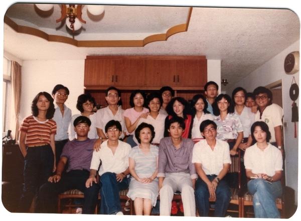19810928年同學會07周老師家