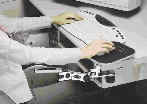 電腦用手臂支撐架(二)