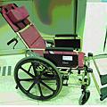 靠背可躺式輪椅(二)