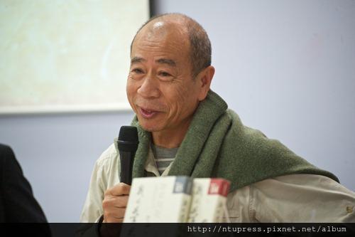 畫家吳炫三分享於《我的學思歷程6》新書發表暨座談