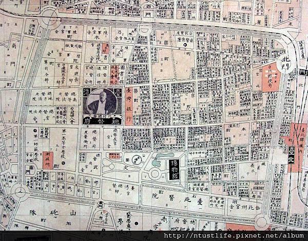 大台北職業別明細圖(昭和3年版)