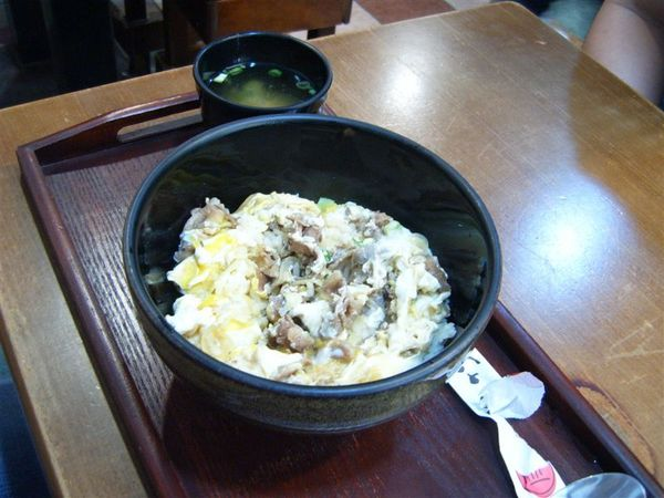 家竹亭-牛肉丼飯