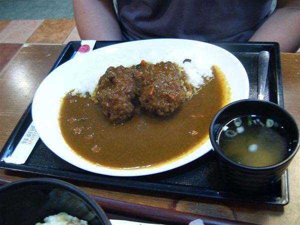 家竹亭-炸豬排咖哩飯