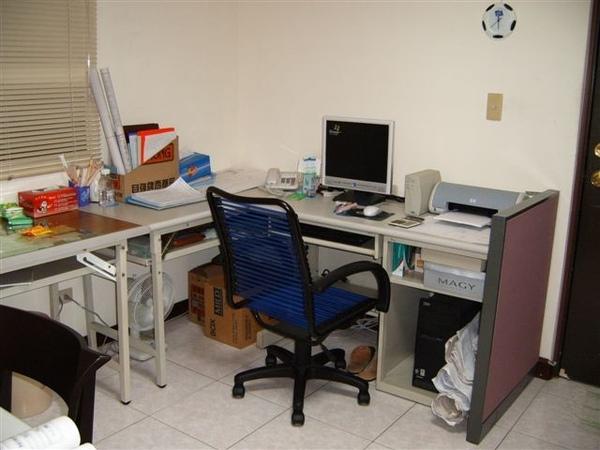 工作室一隅