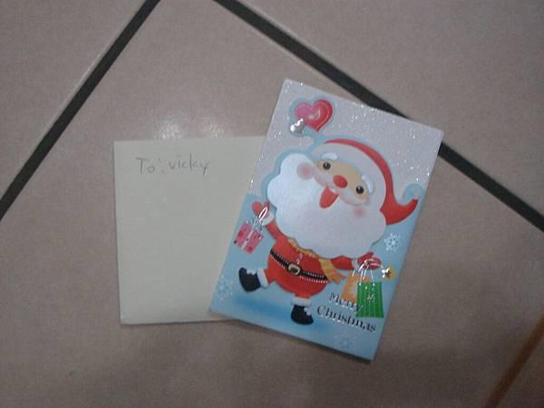 2011小鬼送的聖誕卡片