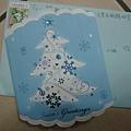2011弦冷送的聖誕卡片