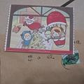 2011ㄇ○ㄇ○送的聖誕卡片