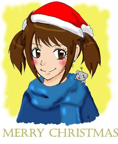 小蔡送的聖誕賀圖