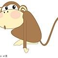 小笠畫猴子