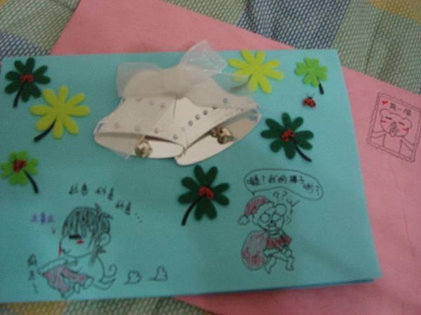 模賤熊送的手作聖誕卡