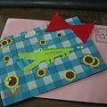 模賤熊的手製卡片(正面)