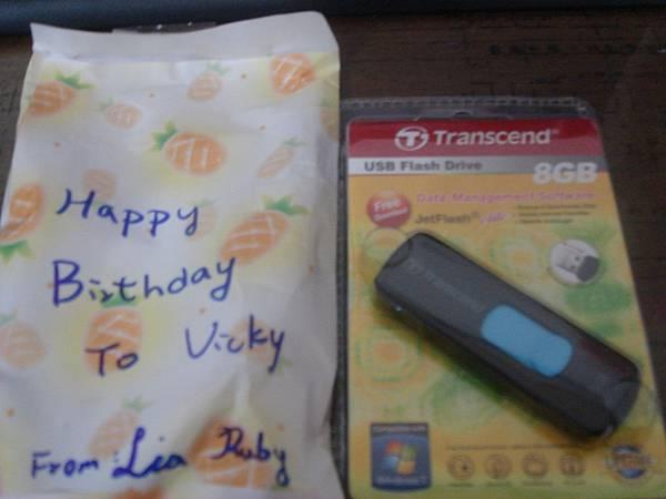 Lia & Ruby特地挑的藍色禮物