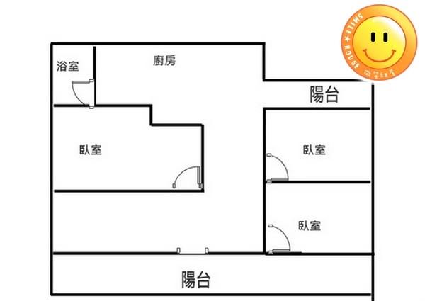 平鎮買屋。平鎮買房子。宋屋國小旁-4樓公寓。338萬