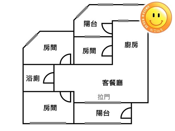 平鎮買屋。平鎮買房子。宋屋國小公寓2樓。388萬