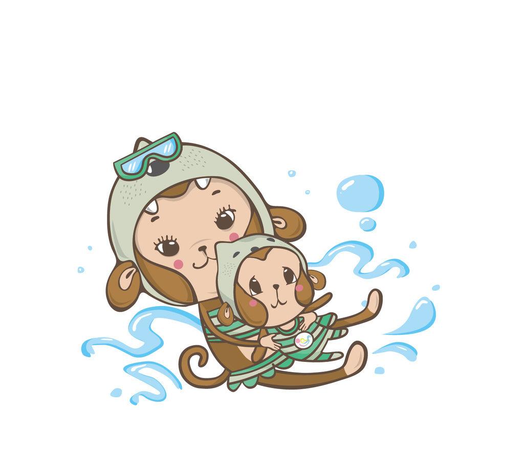 小猴子瑜珈-寶寶親水圖-2.jpg