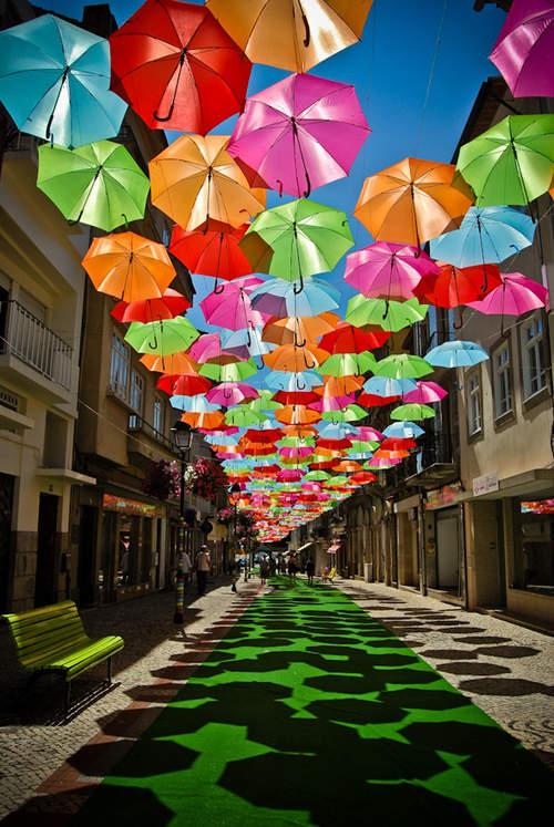 葡萄牙雨傘街
