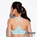 3-2MOLLIFIX 瑪莉菲絲 A++ 交錯雙肩帶美胸BRA _(薄荷綠).jfif