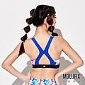 3-2 MOLLIFIX 瑪莉菲絲 弧線美背運動內衣_(流動藍).jfif