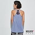 9-2 MOLLIFIX 瑪莉菲絲 雙肩帶圓弧下擺運動背心_(岩灰藍).jfif