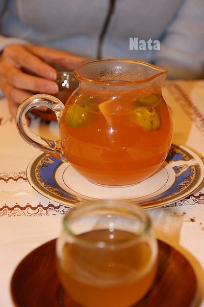 20.贈飲的熱桔子茶.jpg