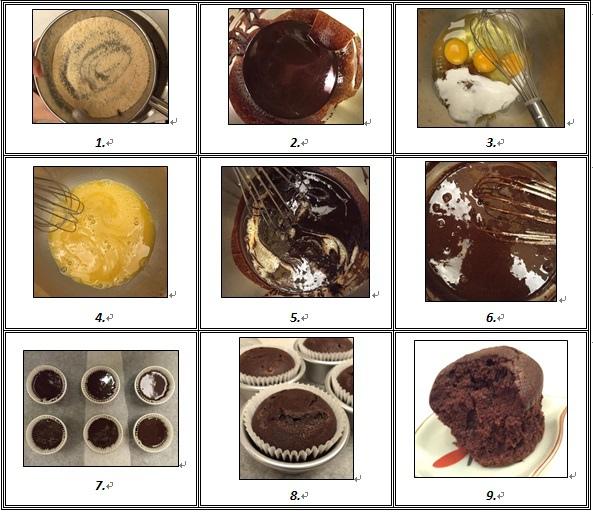 苦甜初戀巧克力杯子蛋糕
