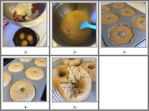 甜甜圈做法
