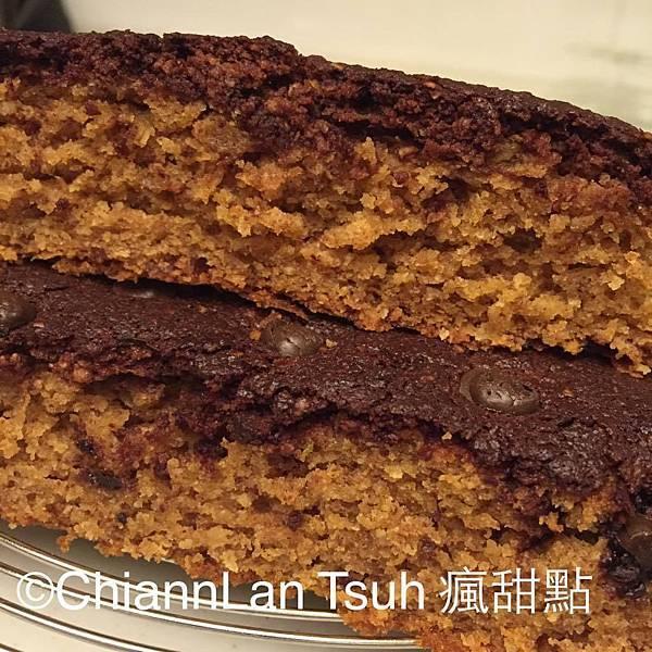 [無麵粉烘培] 巧克力醬蛋糕