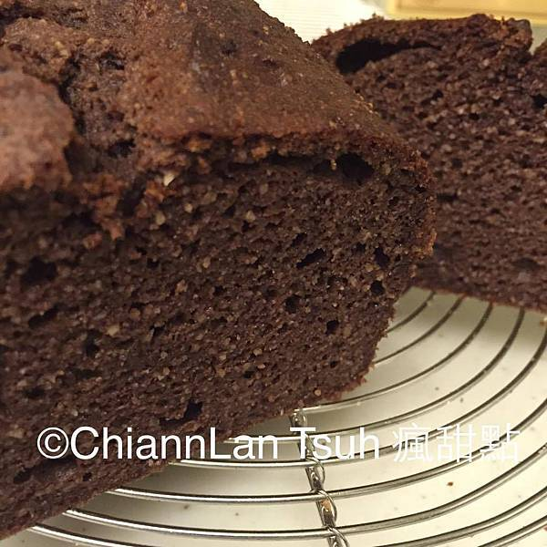 [無麵粉烘培] 乳清巧克力磅蛋糕無麵粉烘培
