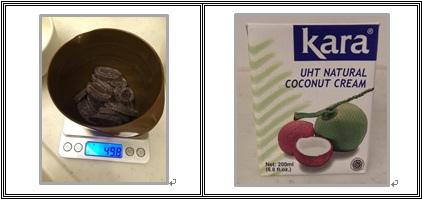巧克力醬材料