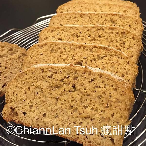 [無麵粉] [無麩質] [低GI] 歐式麵包27