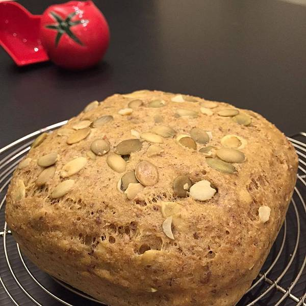 [低GI] [低澱粉] 老爺爺低澱粉蛋糕預拌粉做麵包