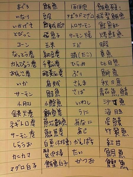 日文中文翻譯