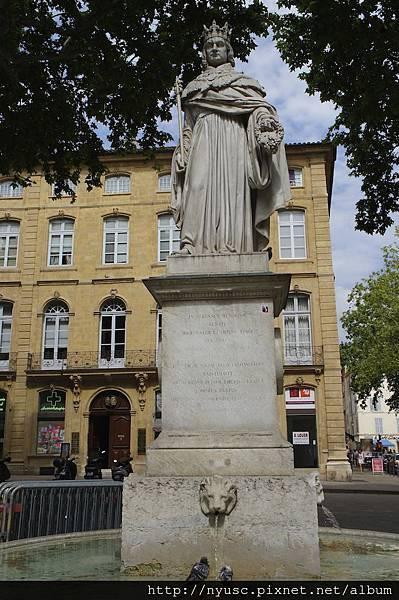 Aix-en-Provence國王雕像