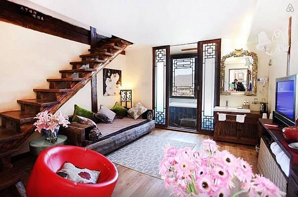 位於Lijiang的麗江豪华复式城景套房(独立浴缸、露台).jpeg