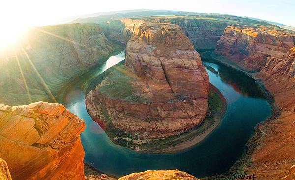 馬蹄灣-亞利桑那州-Arizona-AZ-Page-Horseshoe-Bend-日落-最佳位置.jpg