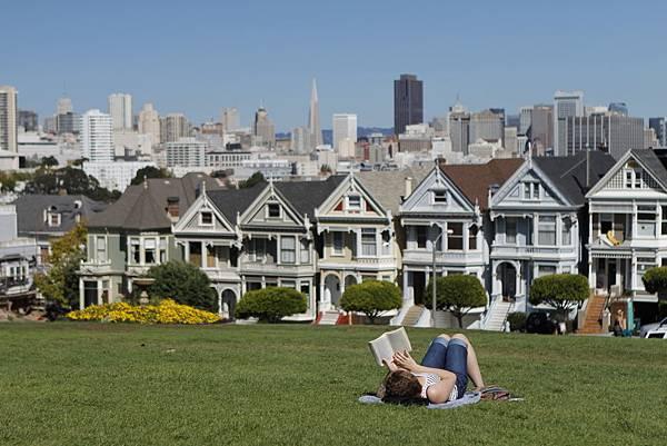 舊金山-公園-大樓