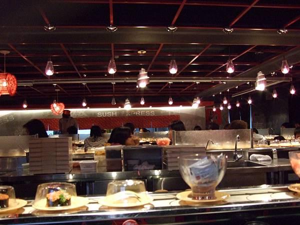 1.淨鮮迴轉壽司