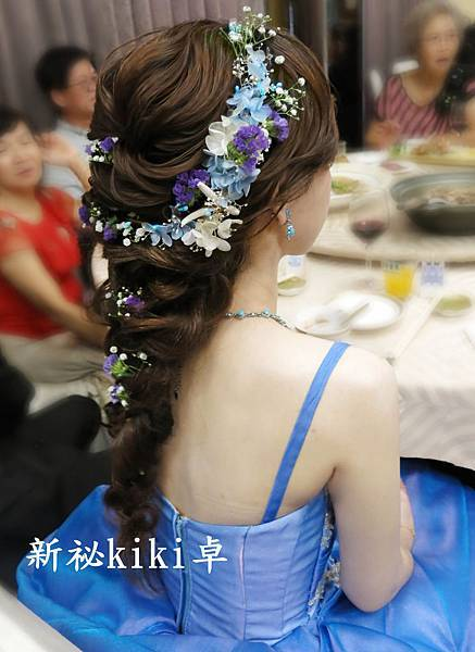 新秘kiki卓鮮花