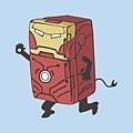 20120803-晚上8點後~不準你吃東西的 [鋼鐵人冰箱]~你想要嗎?