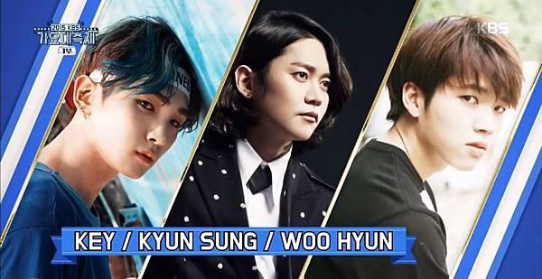 151230-1 SHINee 的 Key x Noel 姜均成 x INFINITE 優鉉特別舞台