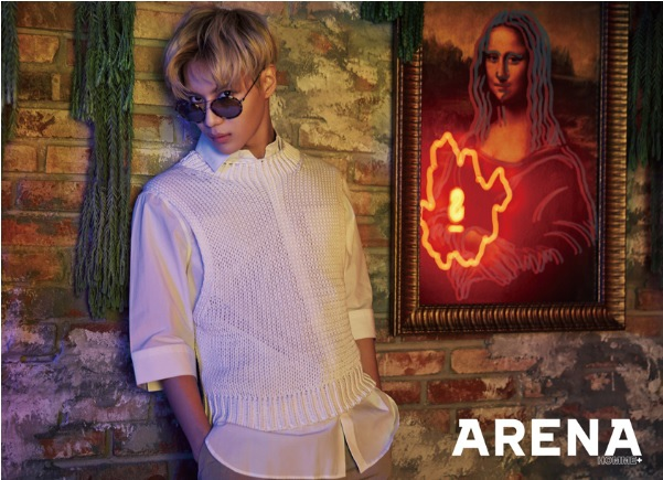 Taemin in ARENA HOMME March 2016