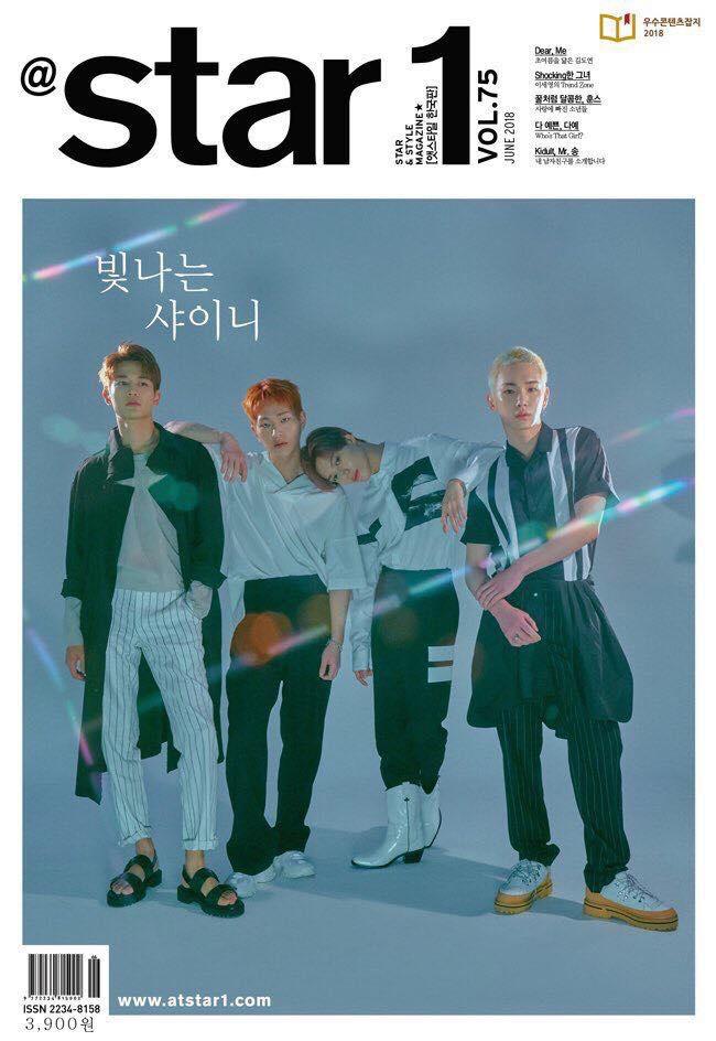 180515 star1 6月刊 SHINee封面